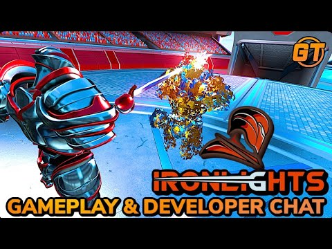 Ironlights VR Gameplay & Developer Interview! Coming SOON To Oculus Quest & PCVR