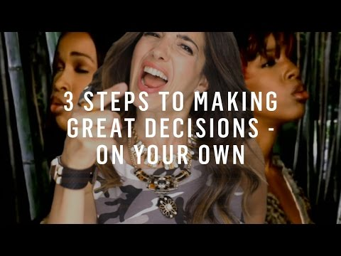 Видео Making right decisions essay