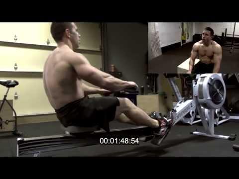 """CrossFit - Dan Bailey's first """"Jackie"""""""