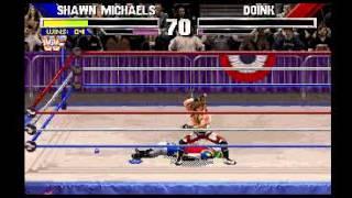 Wrestlemania (1995) MS-DOS PC Game Playthrough