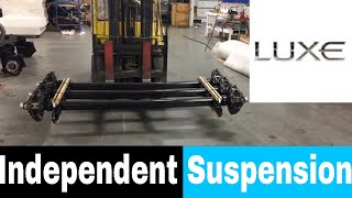 Baixar Luxe Independent suspension - luxury fifth wheel suspension - MORryde IS and Dexter TorFlex IS