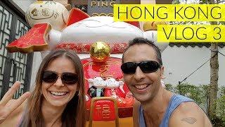 HONG KONG Vlog 3 - Explore with us! Big Buddha, Noodles + more