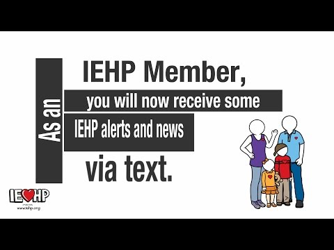 Welcome to the IEHP Text Program