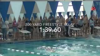 200 Yard Freestyle Relay (Austin High School) 2018
