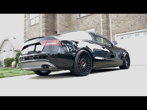 Unboxing & Review of Audi S5 V8 Coupe w/ Armytrix Cat-Back Valvetronic Exhaust by RVrecordings