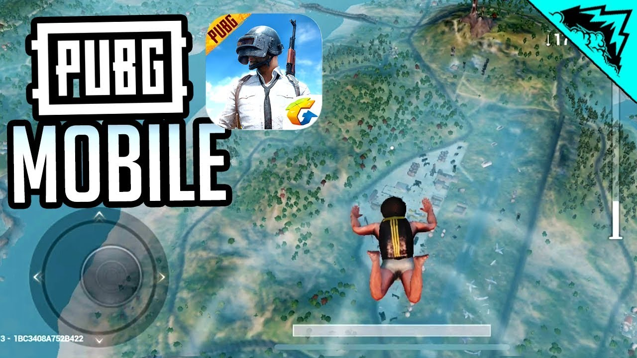 PUBG Mobile Gameplay - MILITARY DROP