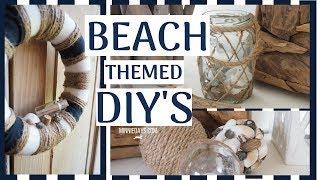 Beach/Nautical Themed DIY's | Budget Friendly