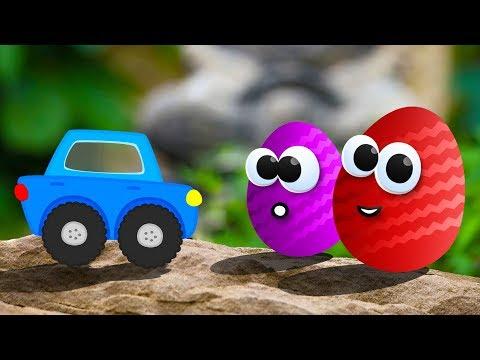 Видео про Машинки. Открываем Яйца Сюрприз с игрушками Тачки (Cars Toys)