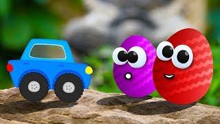 Мультики. Тачки. Молния Маквин. КИНДЕР СЮРПРИЗ. Disney Pixar Cars Toys. Kinder Surprise