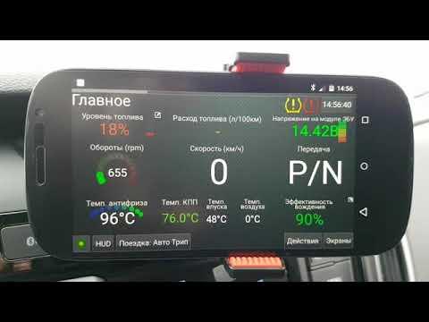 Hyundai Creta погасить лампочку TPMS HobDrive