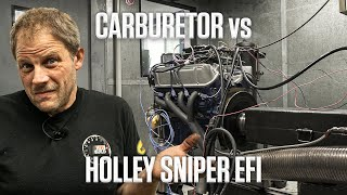 Is it worth it? Replacing your carburetor with a Holley Sniper EFI   Hagerty DIY