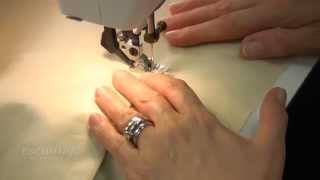 Sewing the Pocket to the Tote Bag Lining (FREE SAMPLE)