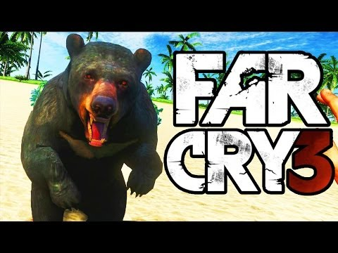 Far Cry 3 Funny Moments (Poker, Side Missions, CRAZY MAP EDITOR)