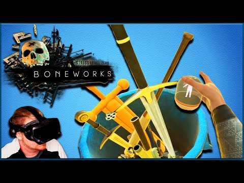 BONEWORKS VR Tips and Tricks   Unlock Null Bodies and Weapons