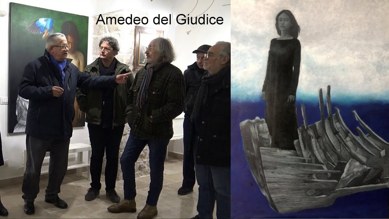Amedeo Del Giudice / He is currently followed in his artistic career by scenographer Massimo Nardi
