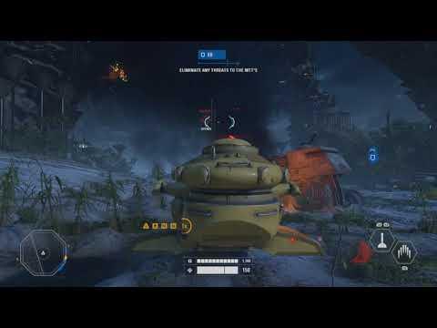 NIGHT TIME KASHYYYK - Star Wars Battlefront 2