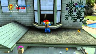 LEGO City Undercover 100% Guide - Cherry Tree Hills (Overworld Area) - All Collectibles