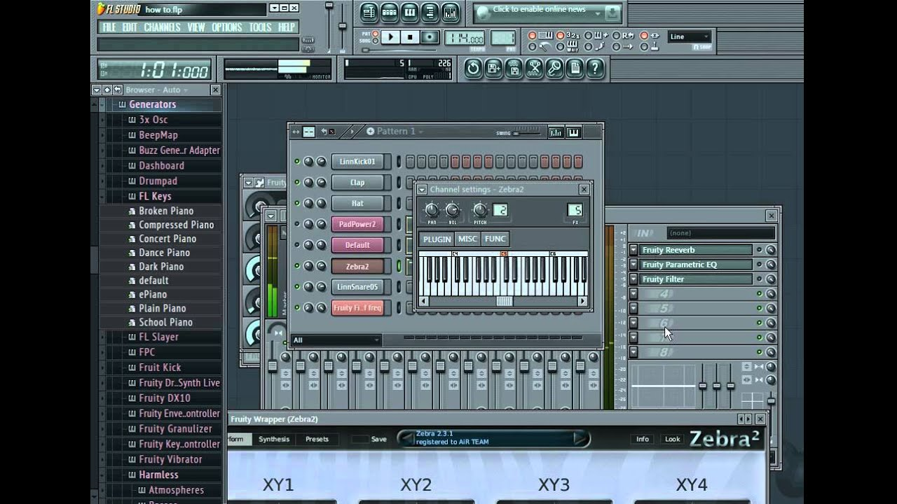 fruity loops how to record live
