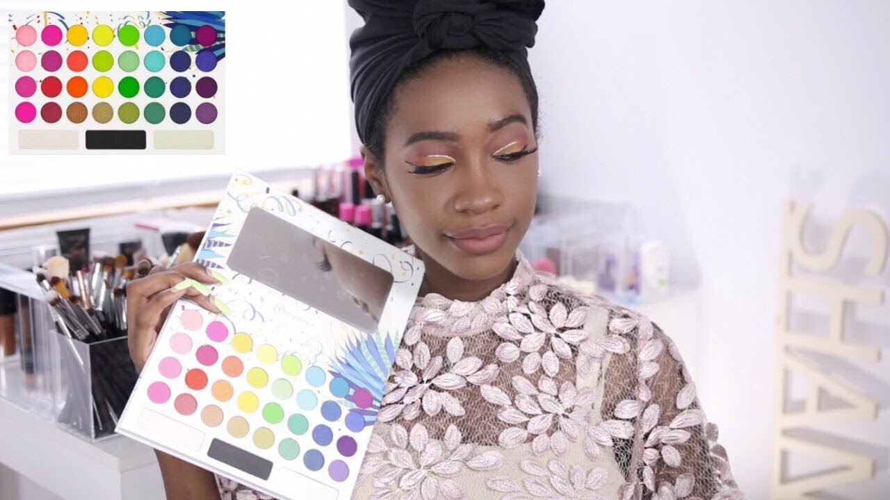 sunset eyes ft bh cosmetics take me back to brazil palette tutorial review youtube. Black Bedroom Furniture Sets. Home Design Ideas