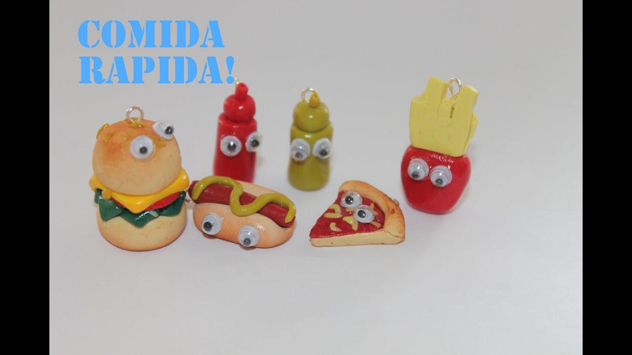 Pulsera de comida rapida arcilla polimerica fast food - Que es la arcilla polimerica ...