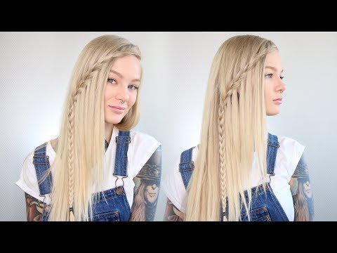 Easy Waterfall Braid for Beginners