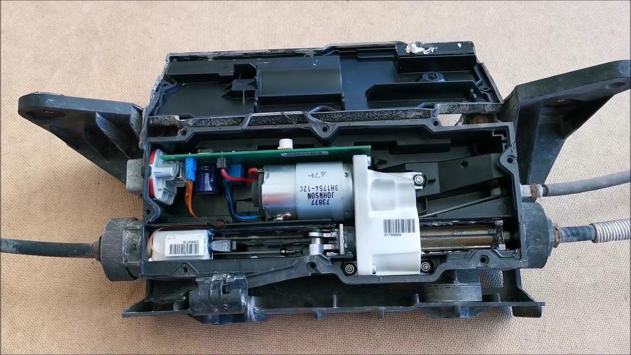 Renault Scenic megane electric handbrake parking brake module repair service