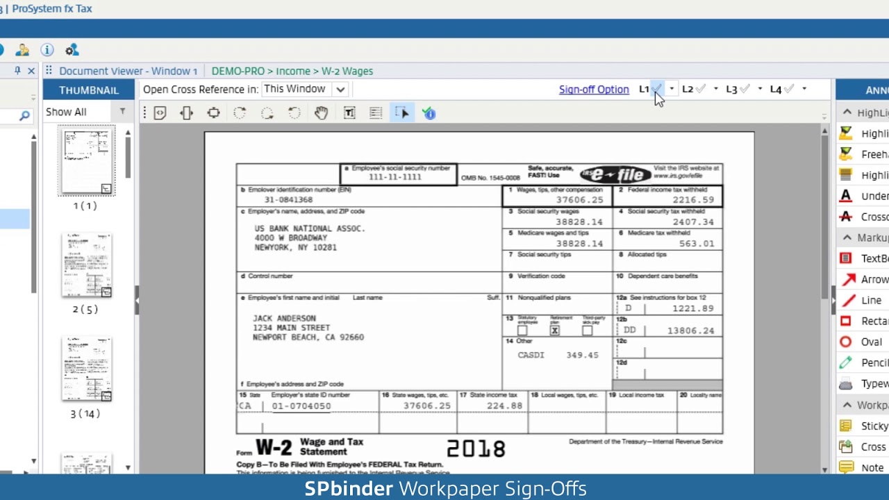 Automated Pro Tax Workpaper Software - SPbinder   SurePrep
