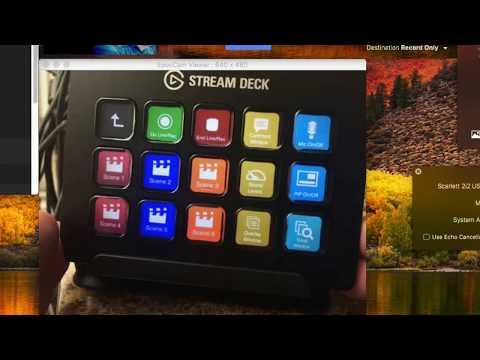 Ecamm Live + Elgato Stream Deck Tutorial
