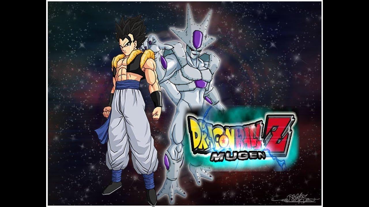 Dragonball Z Mugen:Gogeta Base Form vs Frieza Fifth Form - YouTube