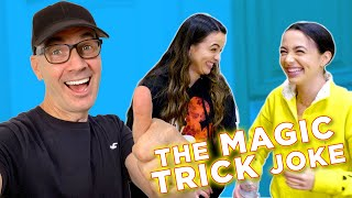 The BEST MAGIC TRICK JOKE plus How to deal with DRAMA and lots of BAD DAD JOKES