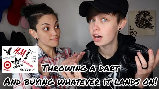 Throwing A Dart And Buying Everything It Lands On!