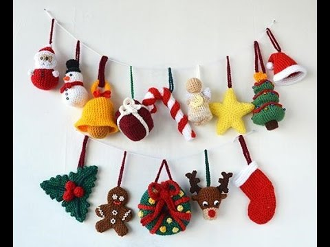 Christmas Special Crochet Tree Decorations & Ornaments ...