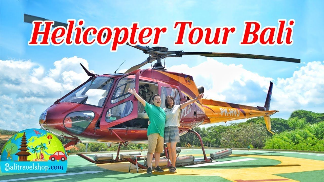 Helicopter Tour Bali Youtube