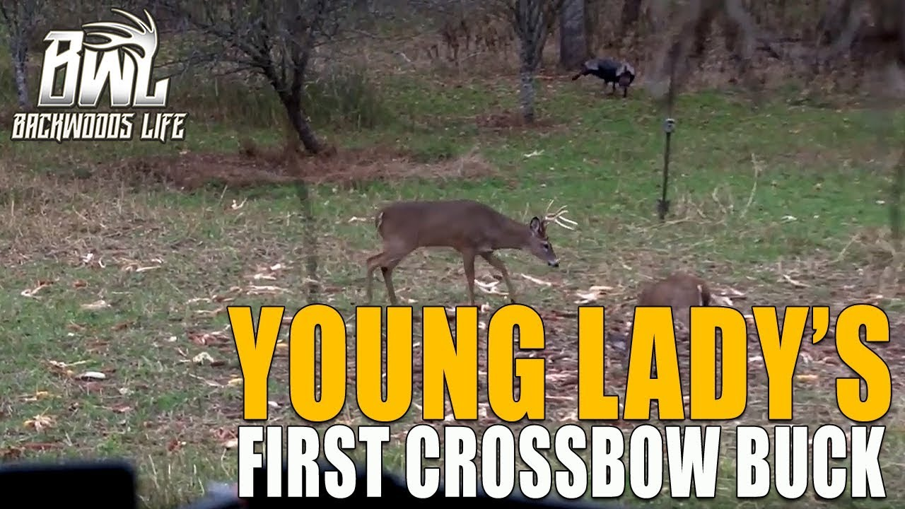 FIRST CROSSBOW BUCK – Backwoods Life – Outdoor Video and Television