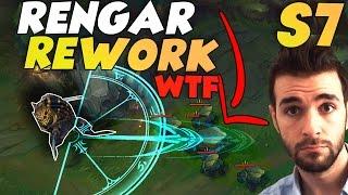 RENGAR REWORK OneShot de Zone ?! Jungle Wtf en S7 LoL