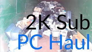 E-Waste Dumpster Diving and Garage Sale Laptop Hunting - 2000 Subscriber Special