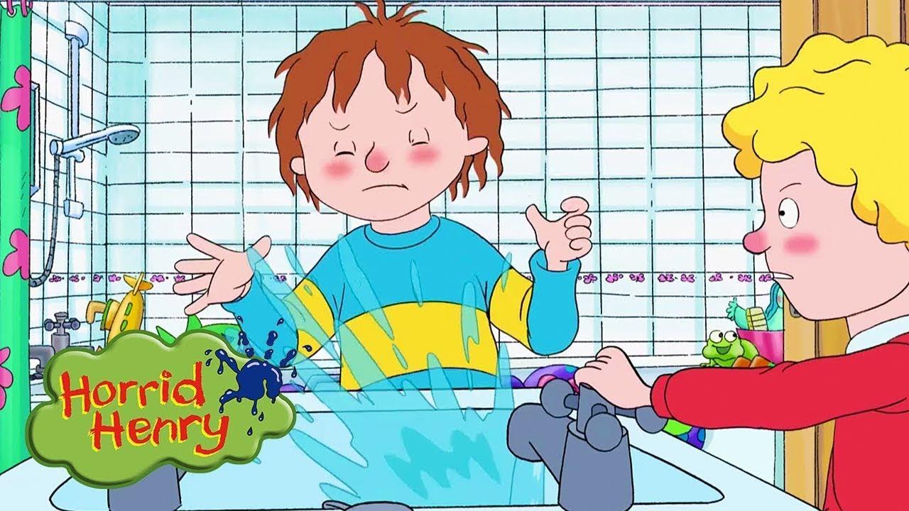 Download Water Fight   Horrid Henry   Cartoons for Children