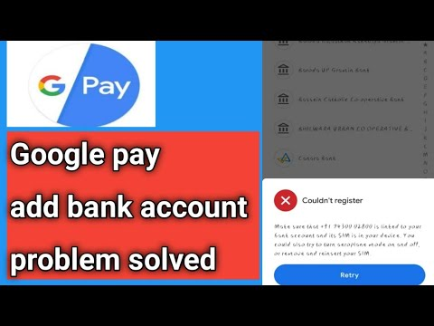 Problems Solved!Google Pay Abb Bank Account!How To Solve Google Pay Add Bank Account Problem! Google