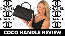 Chanel-Coco Handle Review-Pros/Cons, What Fits Inside, Mod Shots!