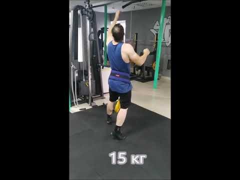 Подтягивания на одной руке с весом. One Arm Pull Ups With Weight