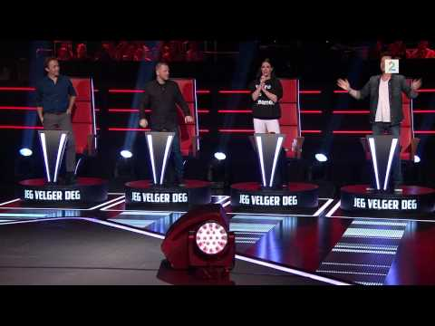 Kristian synger 'Brother' til Matt Corby i The Voice Sesong 2 episode 5 i Norge