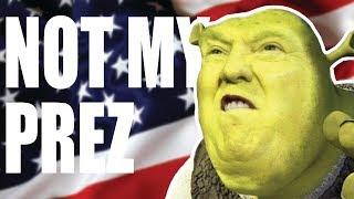 NOT MY PRESIDENT !!!!
