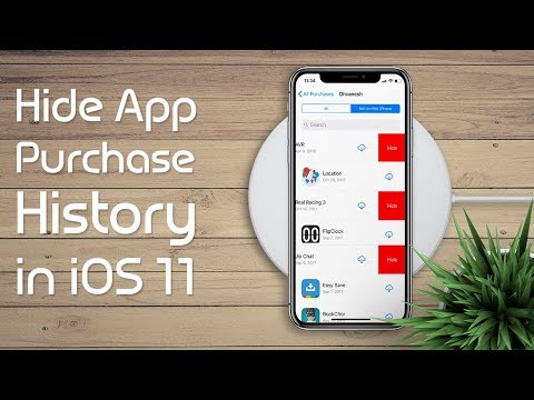 How to Hide Purchased App History in iOS 11 on iPhone or iPad
