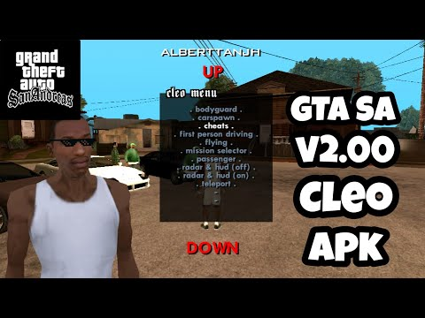 NO ROOT | GTA SA V2.00 CLEO MOD OFFLINE APK OBB FOR ANDROID FREE DOWNLOAD
