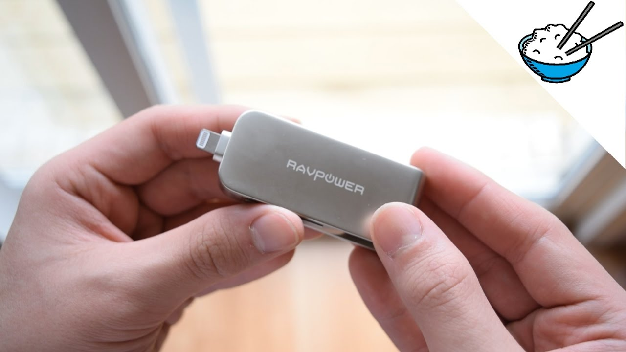 ravpower 64gb ios flash drive unboxing review best external