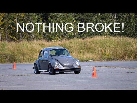 Another Autocross In My 1973 VW Super Beetle