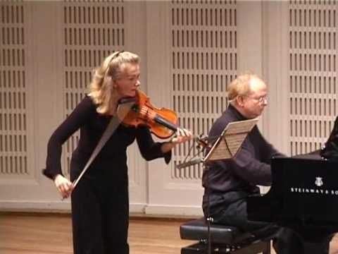 Richard Strauss sonata for violin and piano Es-Dur, op. 18 Elisabeth Kropfitsch