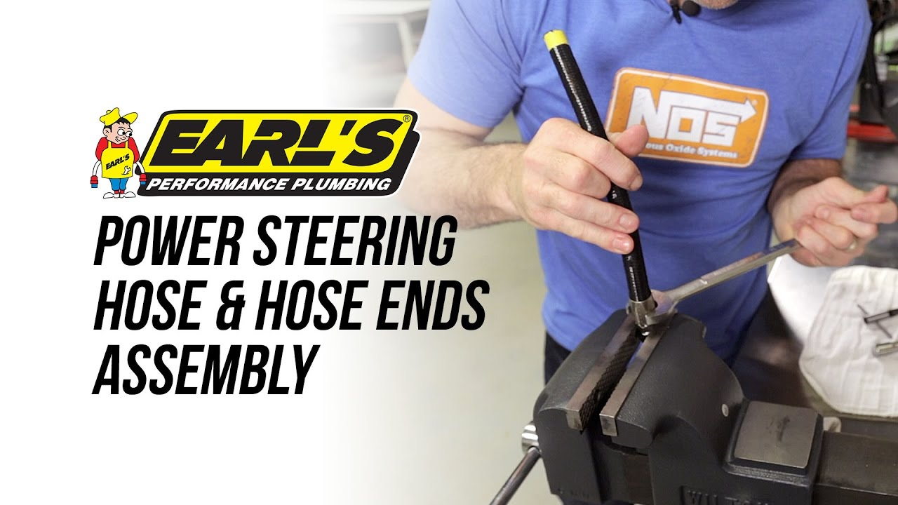 How To Assemble Earl's Power Steering Hose & Hose Ends