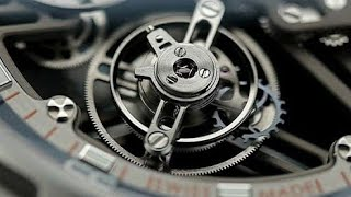 What A Tourbillon Looks Like in Slow Motion | 120 fps