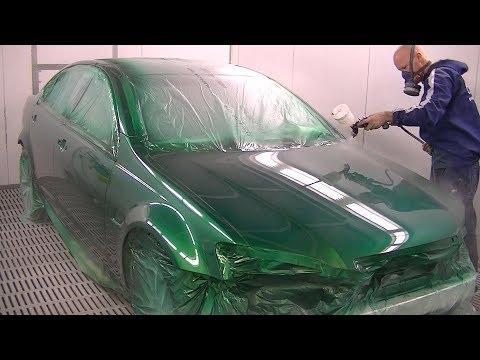 Покраска автомобиля своими руками видео уроки